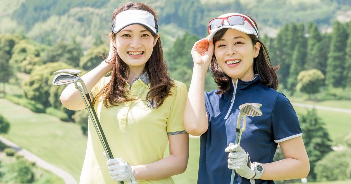 レディースゴルフウェアの人気ブランド